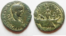 Ancient Coins - Phoenicia. Tyre under Elagabalus (AD 218-222). AE 26mm. Very Rare High Quality Coin!!!!!