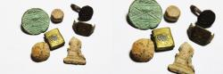 Ancient Coins - ANCIENT HOLY LAND. GROUP OF RELICS. GREEK & ON WARDS