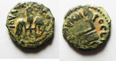 Ancient Coins - JUDAEA. BEAUTIFUL PONTIUS PILATE AE PRUTAH