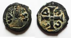 Ancient Coins - AXUM. Anonymous. Circa AD 370. CU