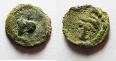 Ancient Coins - Judaea, Minima of Caesarea ,1st-2nd centuries AD. Æ 12