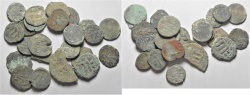 Ancient Coins - LOT OF 24 MOSTLY ARAB BYZANTINE AE COINS