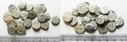 Ancient Coins - LOT OF 20 ANCIENT BRONZE JUDAEAN COINS