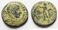 Ancient Coins - ORIGINAL DESERT PATINA. CONSTANTINE I AE FOLLIS