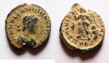 Ancient Coins - Valentinian II - Augustus 375-392 AD. AE 4