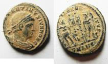 Ancient Coins - CONSTANTINE II AE 3 . AS FOUND. NICE