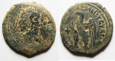 Ancient Coins - PTOLEMAIC KINGS of EGYPT. Ptolemy VIII Euergetes II (Physcon). 145-116 BC. Æ 26. KYRENE MINT