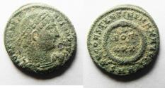 Ancient Coins - CONSTANTINE I AE 3. AS FOUND