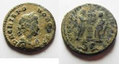Ancient Coins - AS FOUND: CRISPUS AE FOLLIS