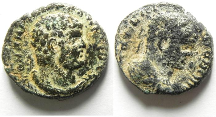 Ancient Coins -  Decapolis. Gadara. Caracalla. A.D. 198-217. Æ. 24