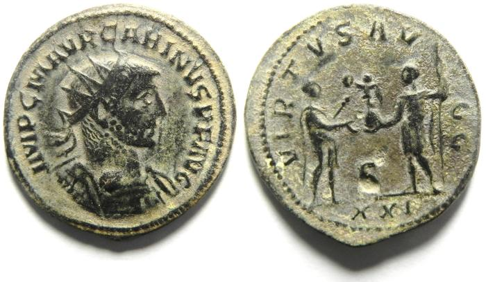 Ancient Coins - CARINUS ANTNINIANUS , VERY HIGH QUALITY