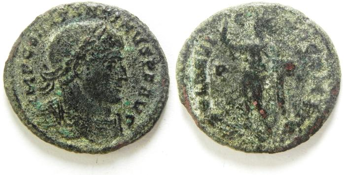 Ancient Coins - CONSTANTINE I AE FOLLIS AS FOUND