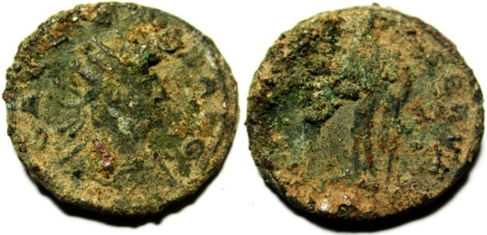 Ancient Coins - GALLIENUS BILLON ANTONINIANUS AS FOUND