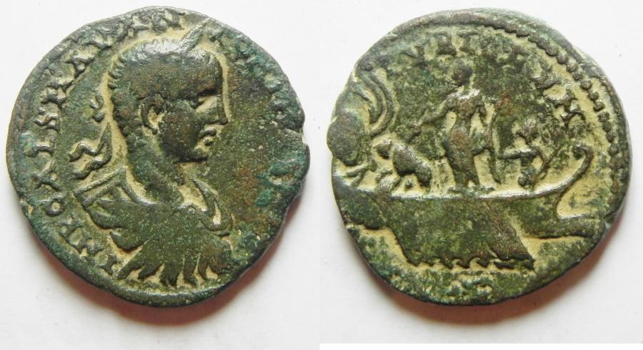 Ancient Coins - Phoenicia. Tyre under Elagabalus (AD 218-222). AE 26mm. Very Rare High Quality Coin!!!!!