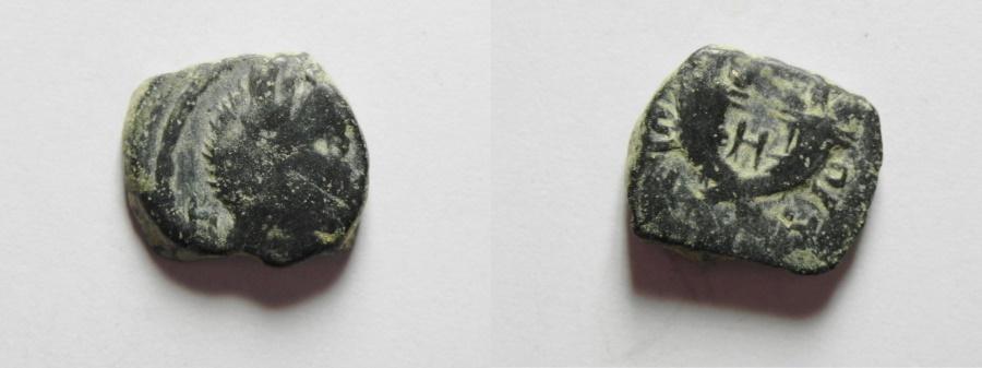 Ancient Coins - NABATAEAN KINGDOM , ARETAS IV AE 12