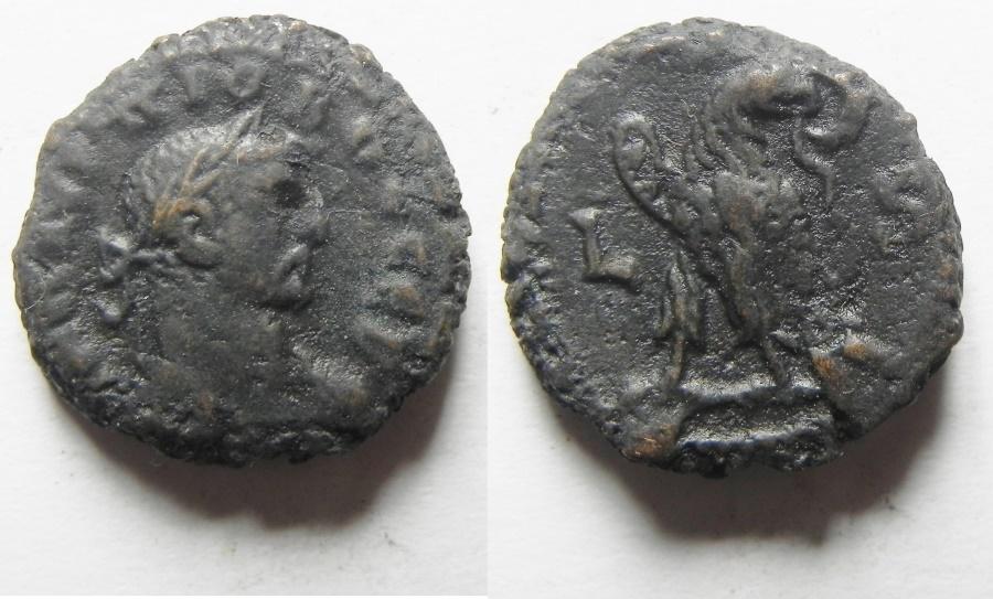 Ancient Coins - Egypt, Alexandria. Probus Potin tetradrachm