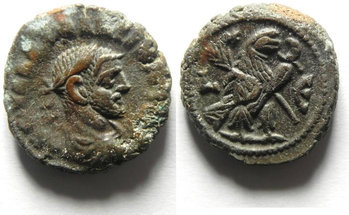Ancient Coins - EGYPT , ALEXANDRIA , POTIN TETRADRACHM , maximian