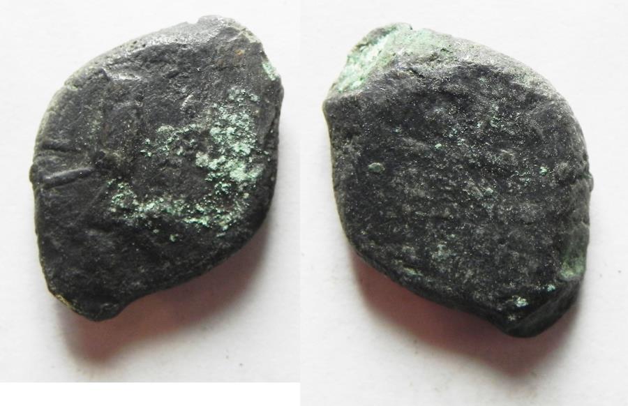 Ancient Coins - Northwestern Arabia. Lihyan. Billon Drachm Struck c. . 2nd–1st centuries BC. Athenian imitation.