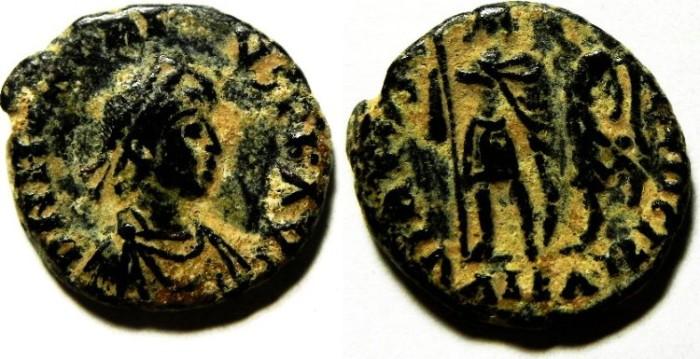Ancient Coins - ROMAN AE 3 , PROBABLY ARCADIUS, VERY ATTRACTIVE