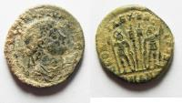 Ancient Coins - AS FOUND. CONSTANTINE II AE 3