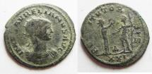 Ancient Coins - AURELIAN SILVERED  AE ANTONINIANUS