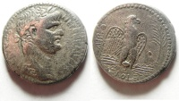 Ancient Coins - BEAUTIFUL NERO TETRADRACHM OF ANTIOCH , FAMOUS BIBLICAL NERONIAN SELA