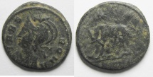 Ancient Coins - CONSTANTINE I AE 3 , COMMEMORATIVE , NICE COIN .