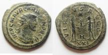 Ancient Coins - NICE CARINUS AE ANTONINIANUS. AS FOUND