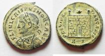 Ancient Coins - ORIGINAL DESERT PATINA: CRISPUS AE 3 . ROME MINT