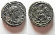 Ancient Coins - EXCEPTIONAL COIN: Egypt. Alexandria under Gordian III (AD 238-244). Billon tetradrachm (23mm, 15.00g). Struck in regnal year 7 (AD 243/4).
