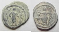 ANTINOOS: Egypt. Alexandria. second-third centuries AD. PB Tessera (22mm, 4.12g).