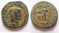 Ancient Coins - NICE AS FOUND DIOCLETIANUS AE FOLLIS