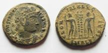 Ancient Coins - CONSTANTINE I AE 3 . AS FOUND. ALEANDRIA
