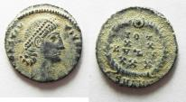 Ancient Coins - BEAUTIFUL AS FOUND CONSTANTIUS II AE 4