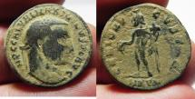 Ancient Coins - MAXIMINUS AE FOLLIS. AS FOUND