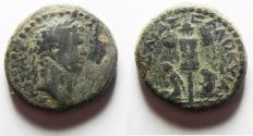 Ancient Coins - JUDAEA, Judaea Capta. Titus. As Caesar, 69-79 CE. Æ 24