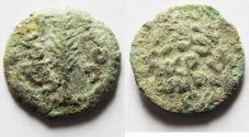 Ancient Coins - CHOICE AS FOUND. JUDAEA. PORCIUS FESTUS AE PRUTAH