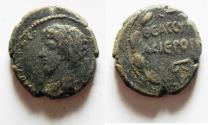 Ancient Coins - Cyrrhestica. Hierapolis under Lucius Verus (AD 161-169).AE 23mm, 10.32 g).