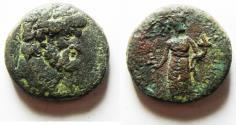 Ancient Coins - PHOENICIA, Dora. Pseudo-autonomous issue. temp. Nero, AD 54-68. Æ 22