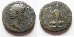 Ancient Coins - JUDAEA, Neapolis. Marcus Aurelius. As Caesar, AD 139-161. Æ 25