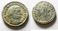Ancient Coins - Maximianus.  AD 286-305. AE FOLLIS. . CHOICE AS FOUND