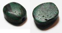 Ancient Coins - ANCIENT EGYPT, STONE SCARAB SHAPED BEAD. NEW KINGDOM. 1300 B.C