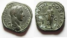 Ancient Coins - SEVERUS ALEXANDER AE SESTERTIUS. NICE!