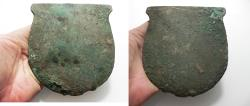 Ancient Coins - ANCIENT EGYPT. MIDDLE KINGDOM BRONZE AXE HEAD. 2055 - 1773 B.C