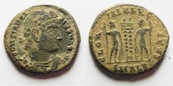 Ancient Coins - CONSTANTINE I AE 3 . AS FOUND. ALEANDRIA