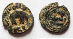 World Coins - ISLAMIC. UMMAYYED AE FALS. HUMS. ELEPHANT