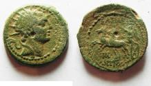 Ancient Coins - SELEUKID KINGDOM. ANTIOCHOS IV . AE 19. AKE MINT