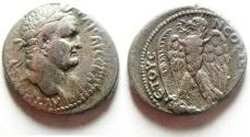 Ancient Coins - VERY ATTRACTIVE VESPASIAN SILVER TETRADRACHM , ANTIOCH - SYRIA