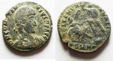 Ancient Coins - AS FOUND. NICE CONSTANTIUS II AE CENT.