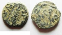 Ancient Coins - ORIGINAL PATINA: JUDAEA. PORCIUS FESTUS UNDER NERO PRUTAH